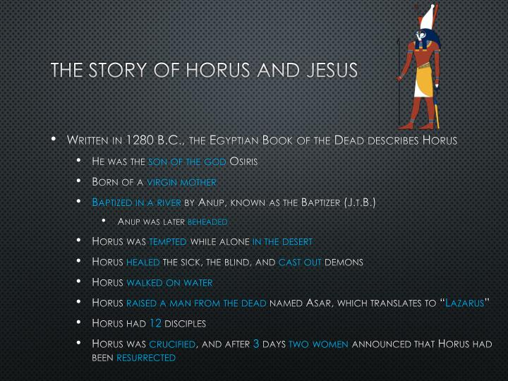 The Story of Horus and Jesus