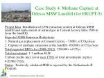 case study 4 methane capture at odessa msw landfill for erupt 5