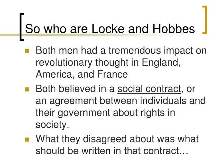 Ppt Comparing Thomas Hobbes And John Locke Powerpoint Presentation