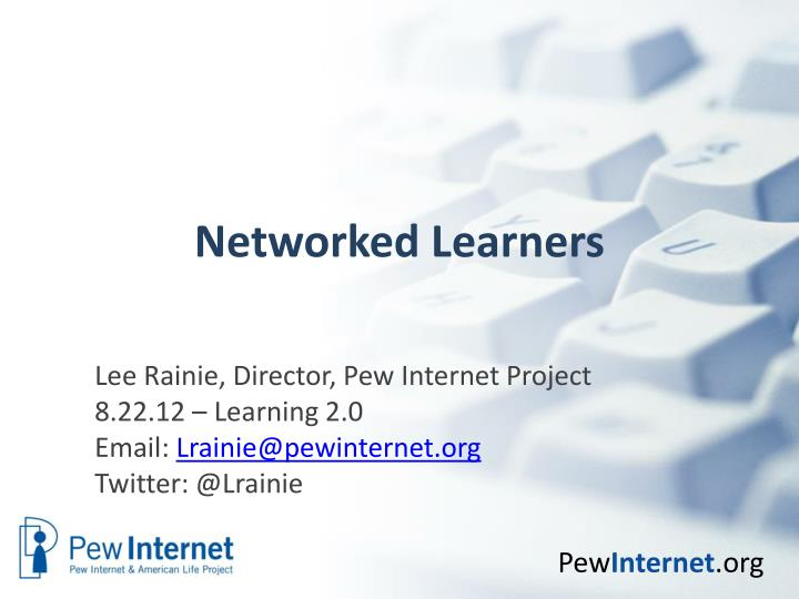 networked learners n.