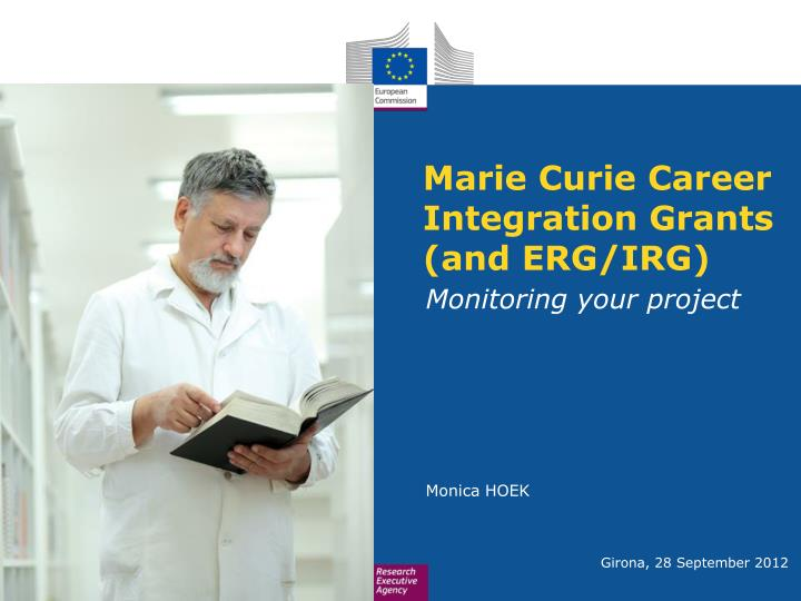 marie curie career integration grants and erg irg n.