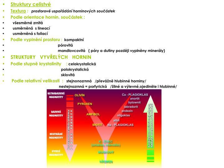Struktury celistvé