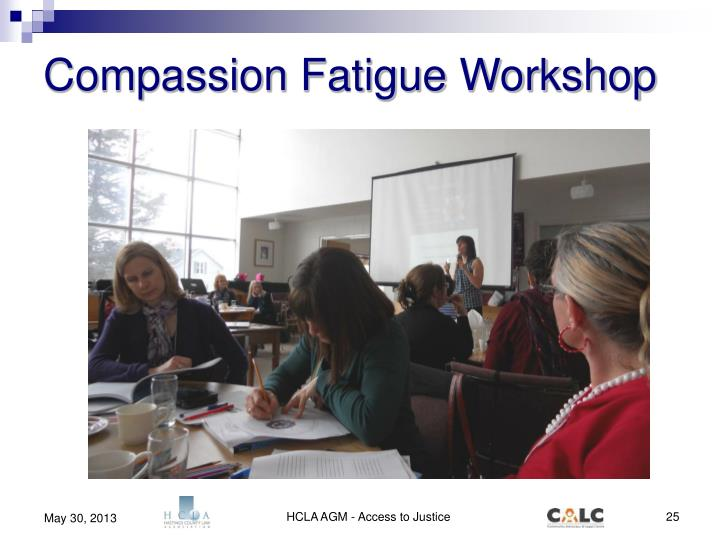 Compassion Fatigue Workshop