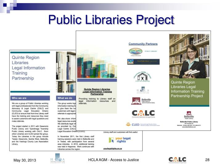 Public Libraries Project