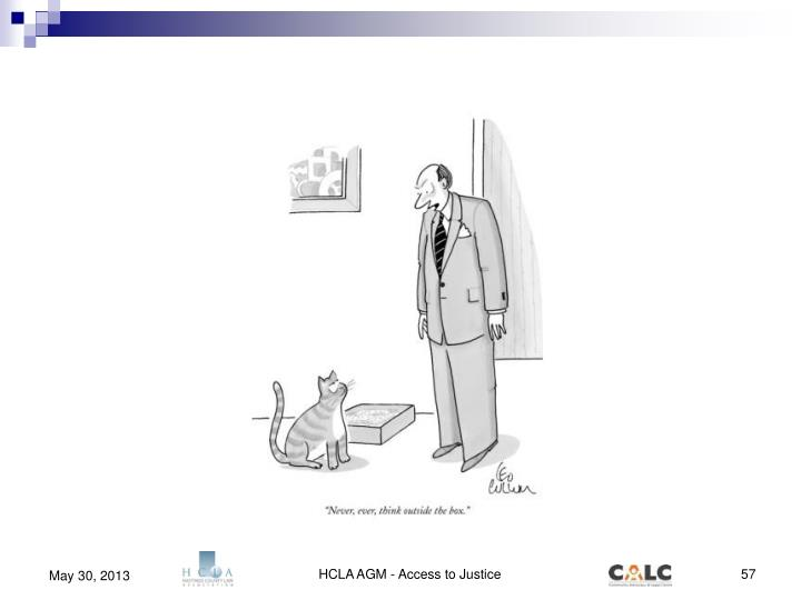 HCLA AGM - Access to Justice