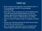 1940 tal