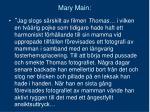 mary main
