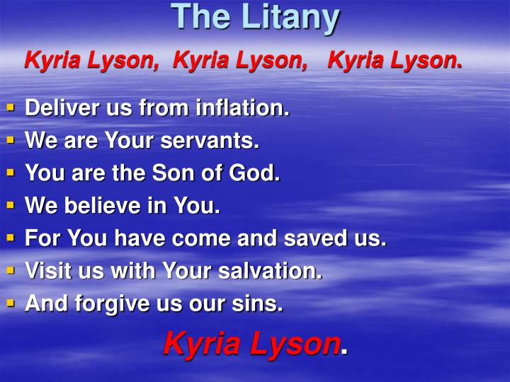The Litany