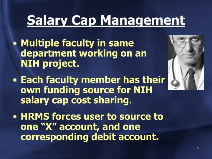 Salary Cap Management