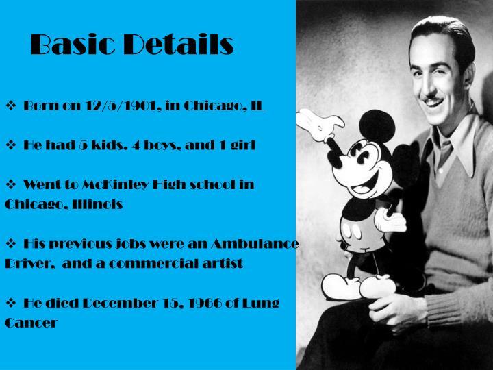 Ppt Biography Of Walt Disney Powerpoint Presentation Id 4662251