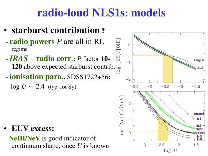 radio-loud NLS1s
