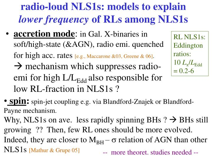 radio-loud NLS1s: models to explain
