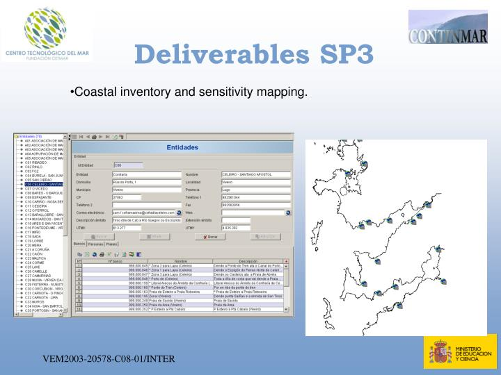 Deliverables SP3