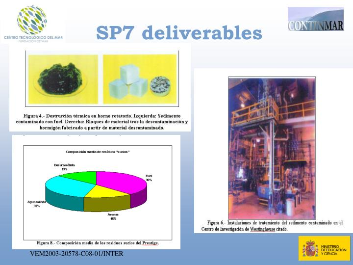 SP7 deliverables