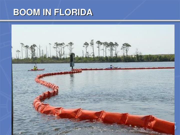 BOOM IN FLORIDA