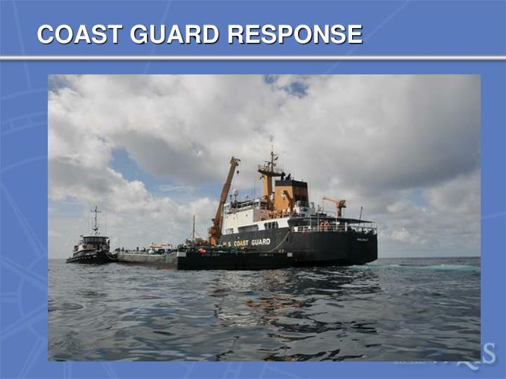 COAST GUARD RESPONSE