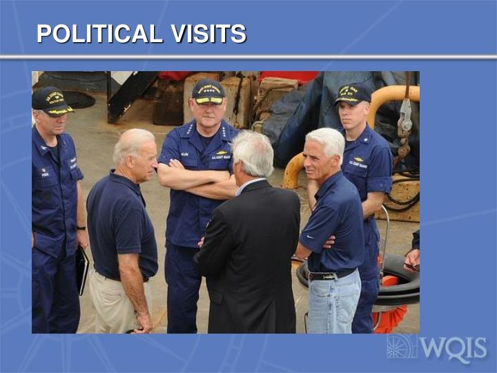 POLITICAL VISITS