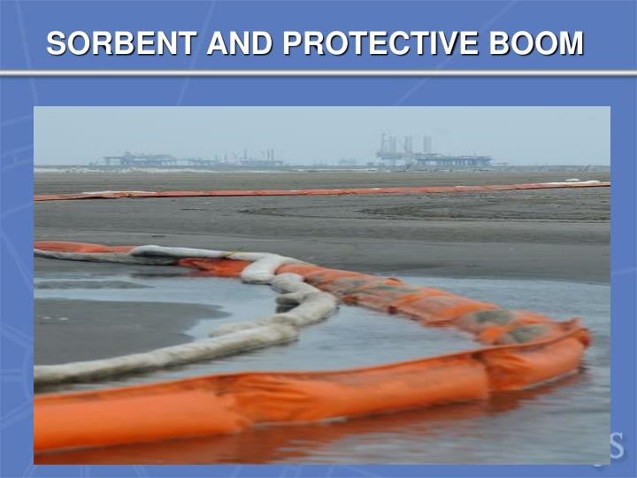 SORBENT AND PROTECTIVE BOOM