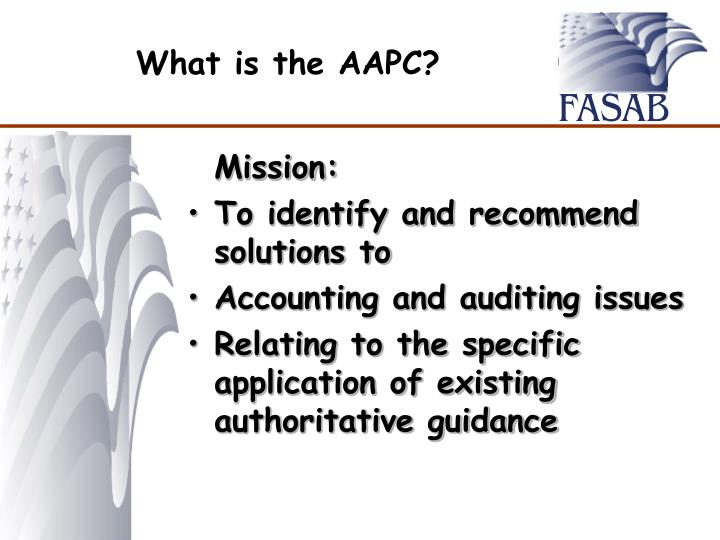 What is the AAPC?