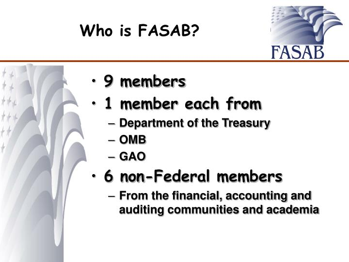 Who is FASAB?