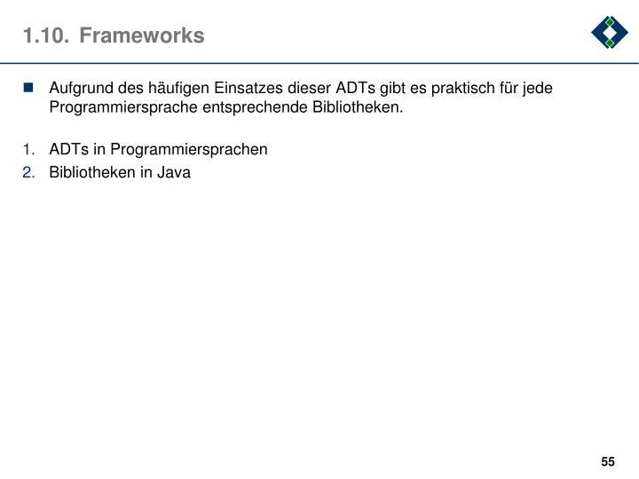 1.10.Frameworks