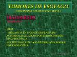 tumores de esofago carcinoma celulas escamosas15