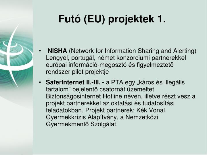 Futó (EU) projektek 1.