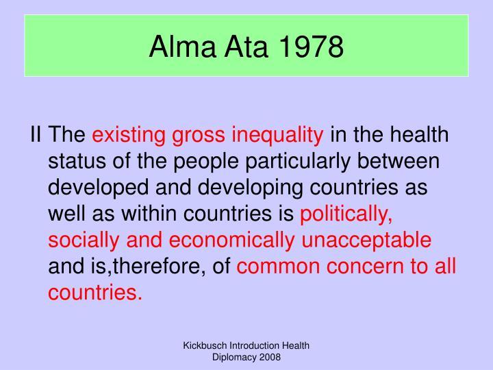 Alma Ata 1978