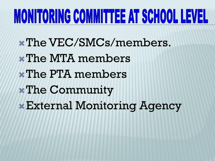 The VEC/SMCs/members.