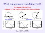 what can we learn from rm effect