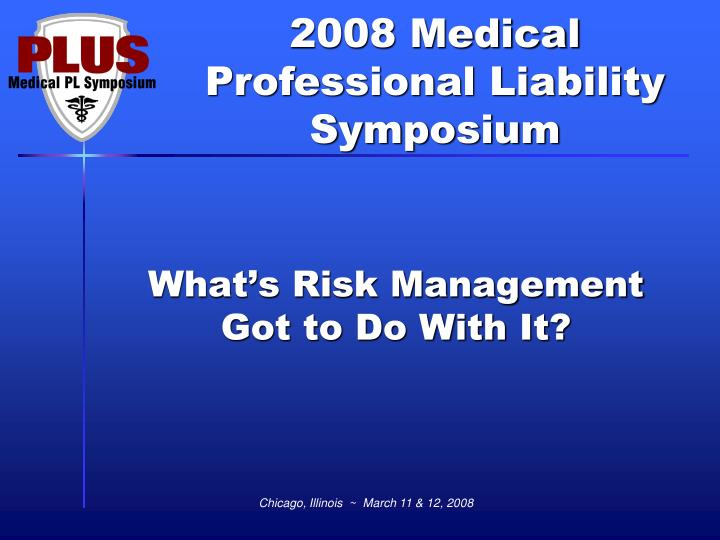 what s risk management got to do with it n.
