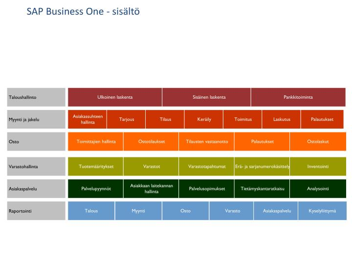 SAP Business One -