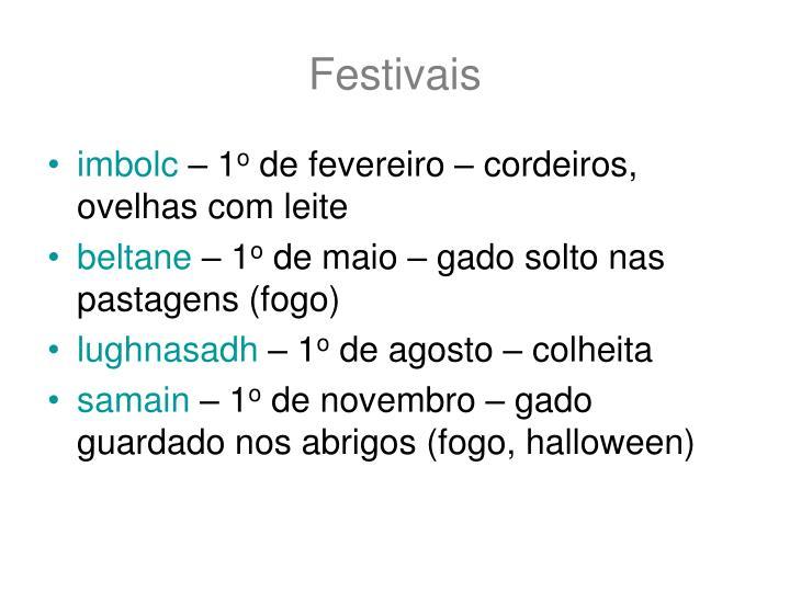 Festivais
