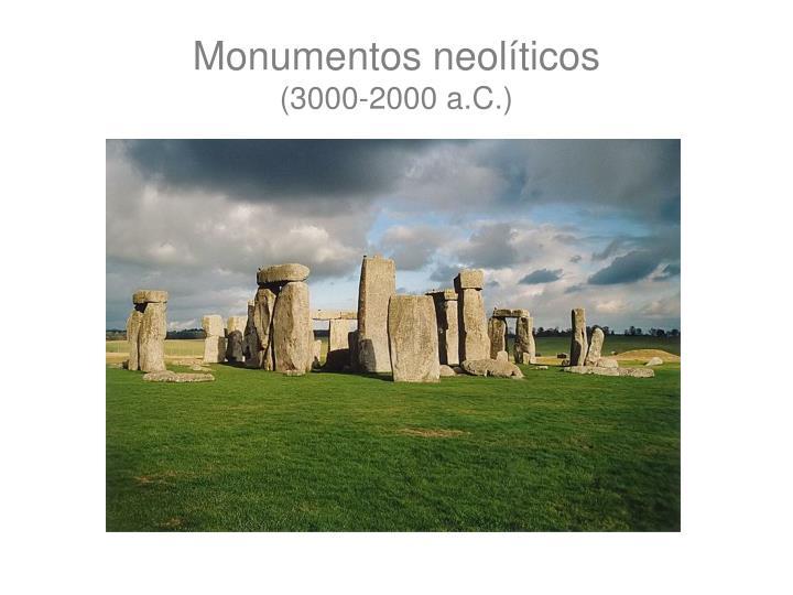 Monumentos neolíticos