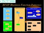 bfop business function patterns