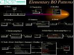 elementary bo patterns