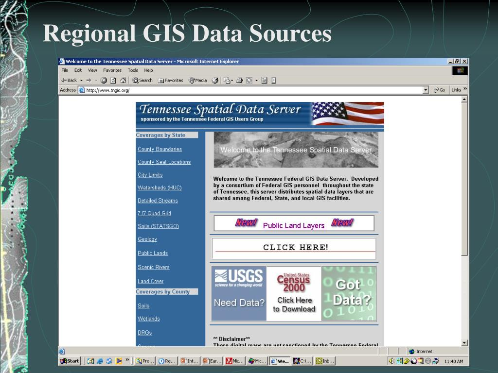 PPT - Introduction to GIS PowerPoint Presentation - ID:4665387
