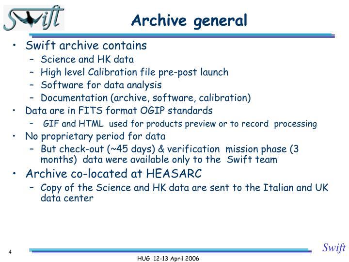 Archive general