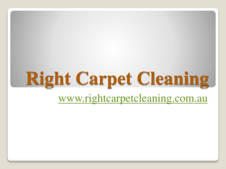 right carpet cleaning n.