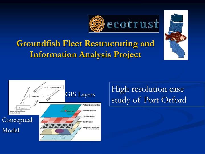 Groundfish Fleet Restructuring and Information Analysis Project