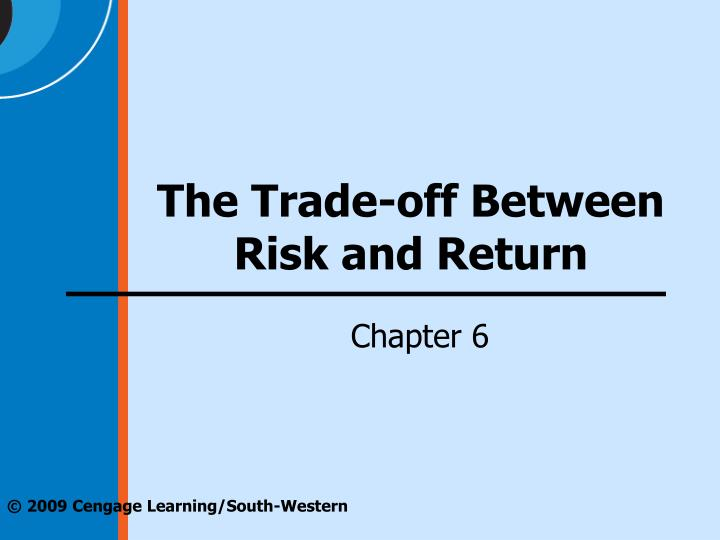 PPT The Trade Off Between Risk And Return PowerPoint