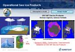 operational sea ice products