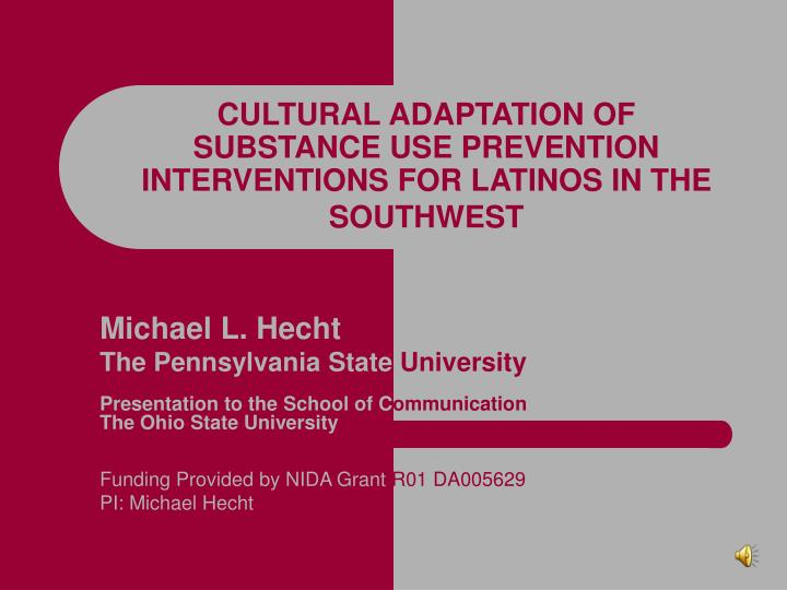 latino health literacy and acculturation Objectives • discuss the current landscape of cultural competency and health literacy in the hispanic/latino community • describe strategies for addressing cultural.