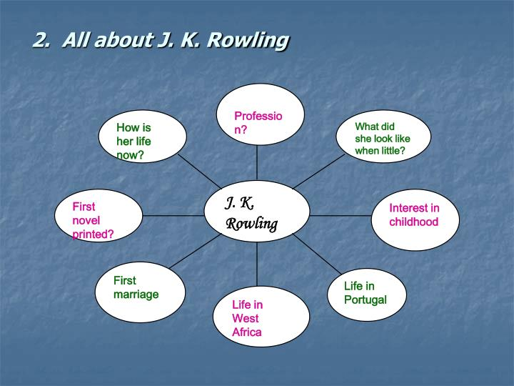 2.  All about J. K. Rowling
