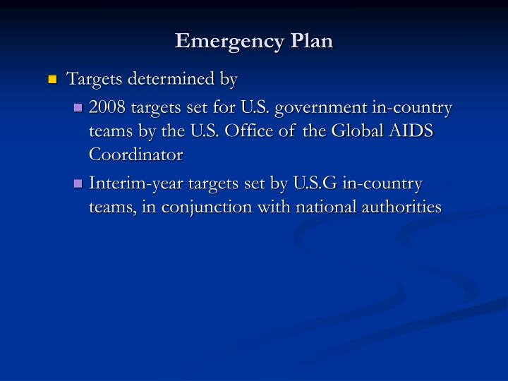 Emergency plan1