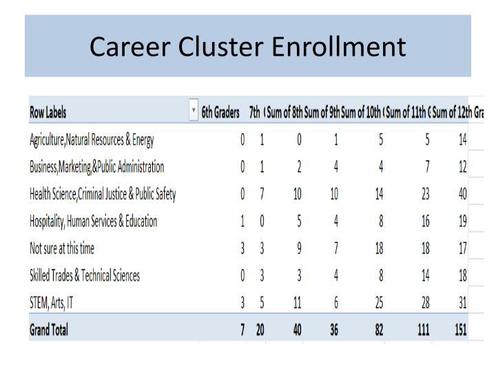 Career Cluster Enrollment