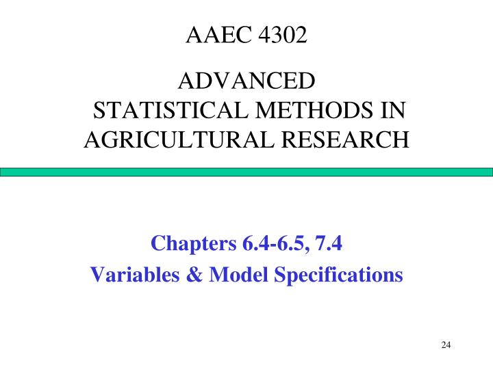 AAEC 4302