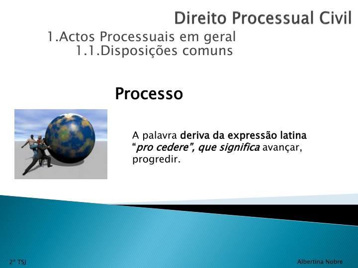 Direito processual civil2