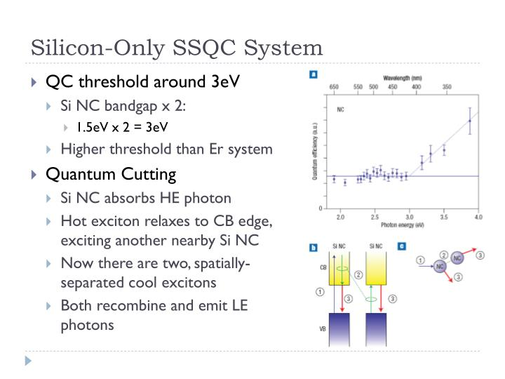 Silicon-Only SSQC System