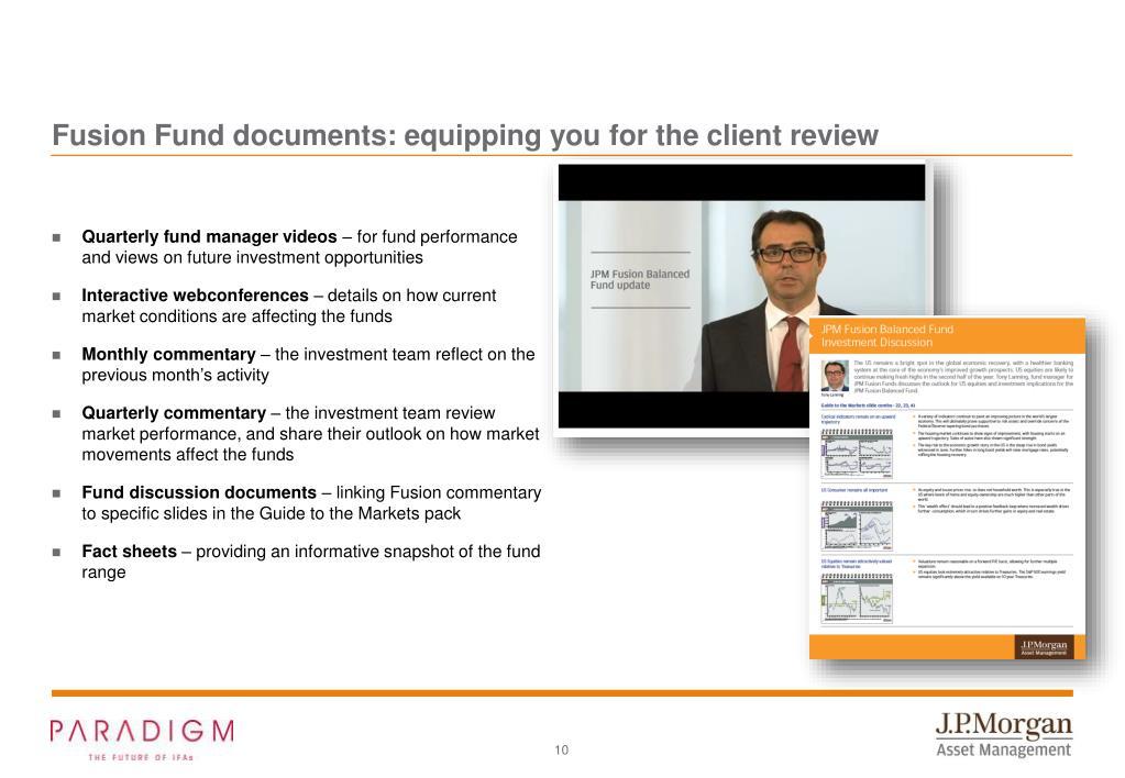 PPT - J P  Morgan Asset Management - Market Insights